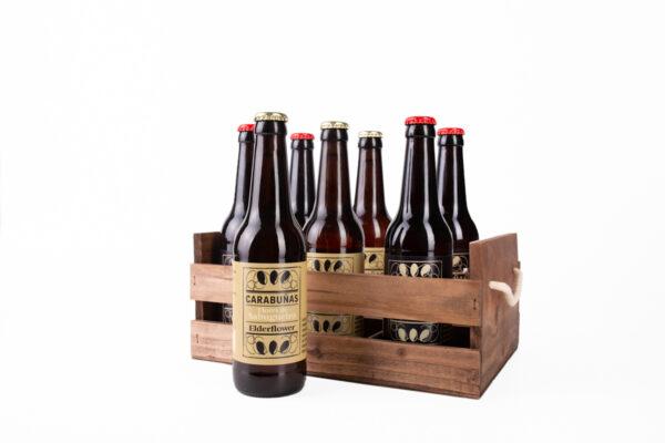 Caja cervezas Carabuñas