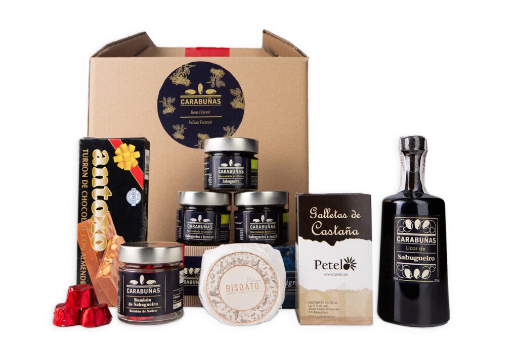 caja navidad gallega