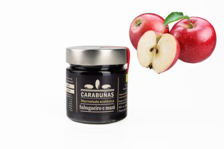 Mermelada Sabugueiro e Mazá