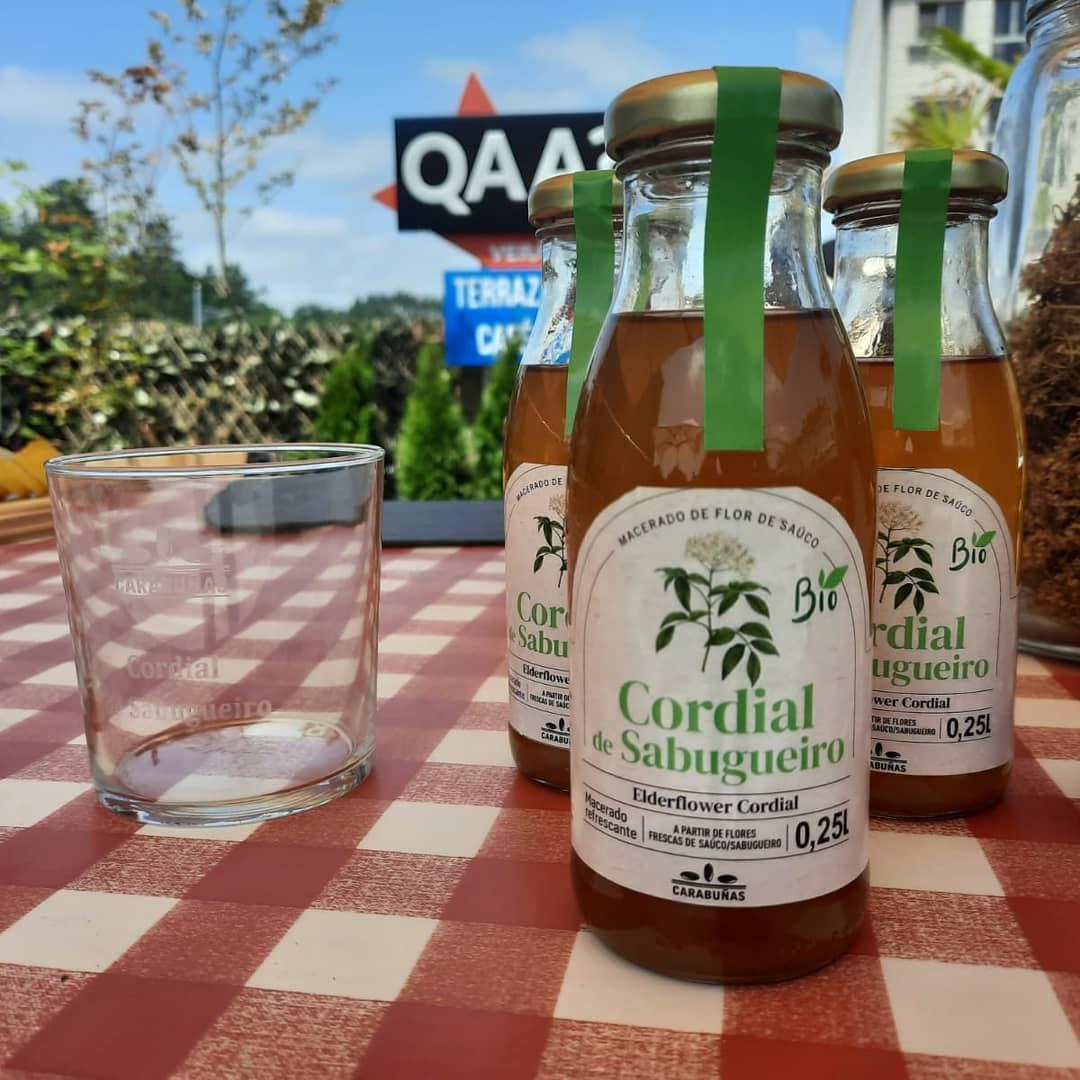 Cordial de sabugueiro, a nosa bebida máis refrescante: